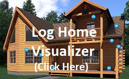 Gastineau Oak Log Homes and Cabin Kits | Log Floor Plans Designs LOCATED THIS IN MISSOURI