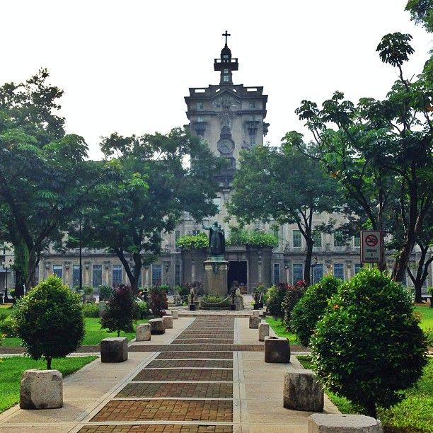 Universidad Santo Tomas, Manila.  Founded in 1611, it is the oldest university in Asia.