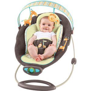 InGenuity Automatic Bouncer Java Jungle I so need this