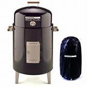 Brinkmann Smoke'N Charcoal Grill & Smoker at Hayneedle