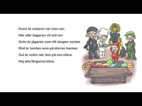 4. Färgerna - ur Stora Rim&Ramsor - YouTube