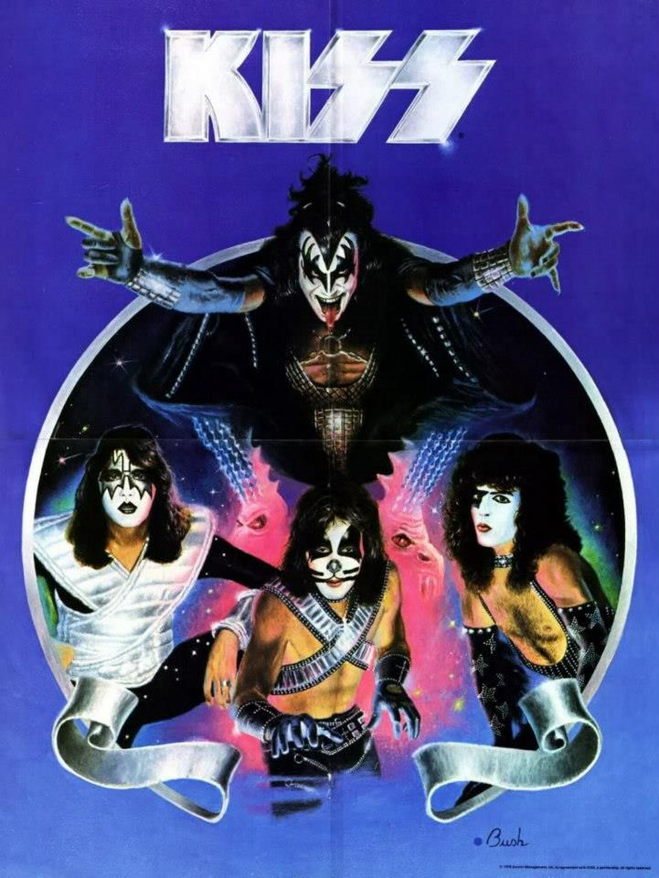 KISS... fan or non-fan,everybody knows a Kiss song. Who has not been to a wedding and they play rock n roll all night???