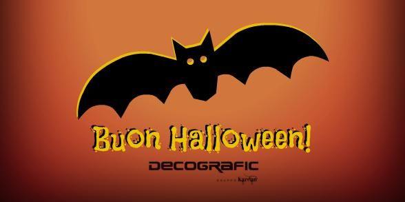 Oggi ci scateniamo con pipistrelli, zucche & Co. #HappyHalloween #Halloween #halloween2014 #bat | Decografic Gruppo Kardan è grafica stampa  & pubblicità www.decografic.com
