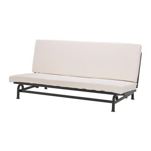 IKEA - EXARBY, 3místná rozkládací pohovka, , 10 cm silná matrace z vysoce pružné pěny a latexu je tvrdá a garantuje pohodlí a kvalitní spánek.