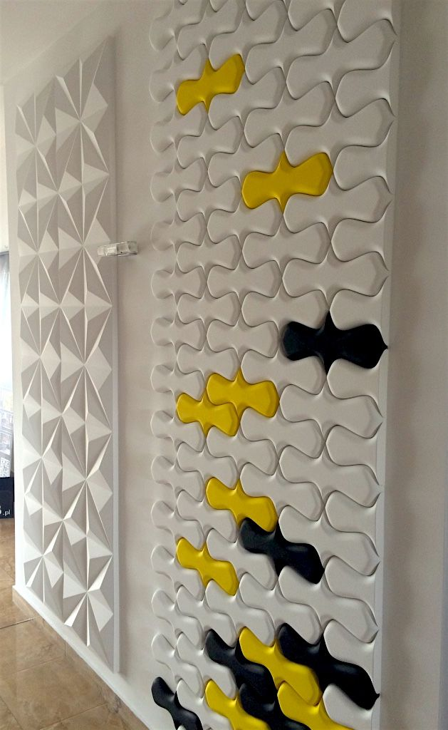 Multikolor na ścianie - 1m2 to 36 szt - to 36 elementów o różnych kolorach. A twoja ściana ????