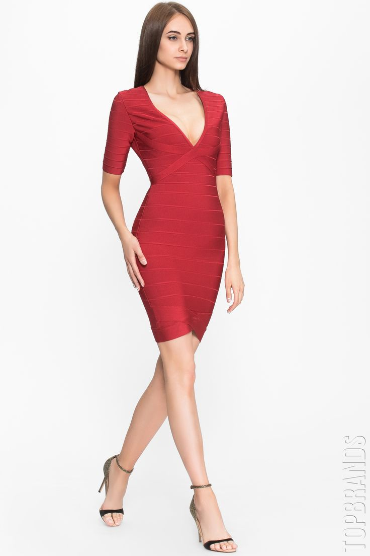 Классическое бандажное платье Herve Leger с доставкой и примеркой — http://fas.st/EM2wpe