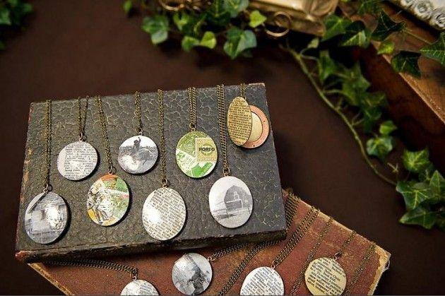 Cinder & Sage unique necklaces