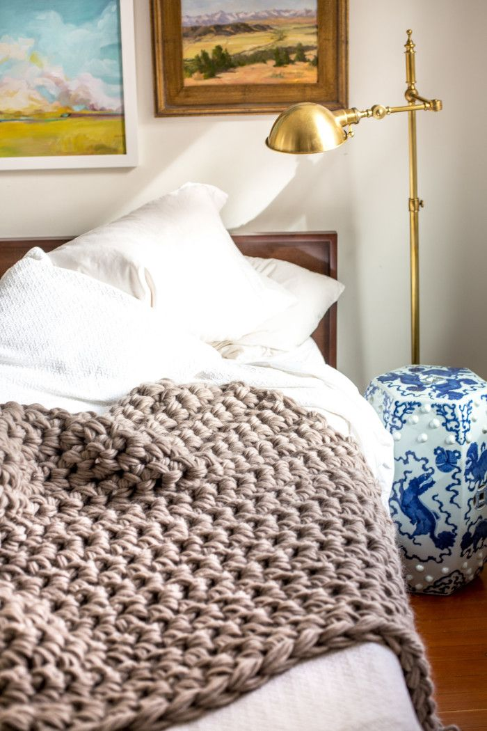 The one downside is that it takes even more yarn that hand crochet blanket pattern