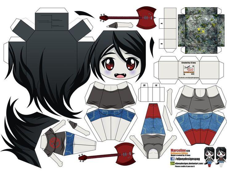 Marceline Abadeer (Joey's Chibi Girls 028) by ELJOEYDESIGNS on deviantART