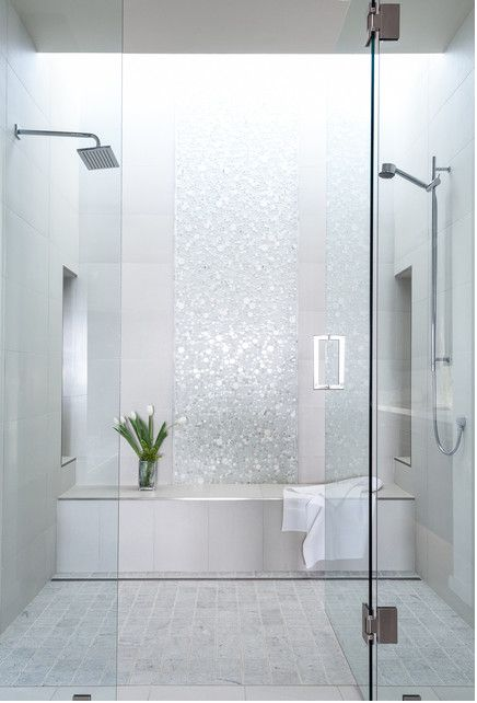 Bathroom Tiles White best 25+ white mosaic bathroom ideas on pinterest | white mosaic