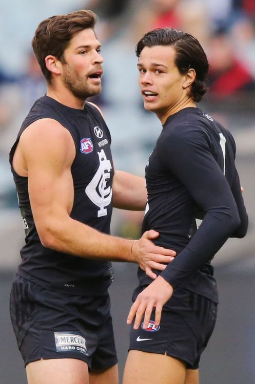 Levi Casboult and Jack Silvagni