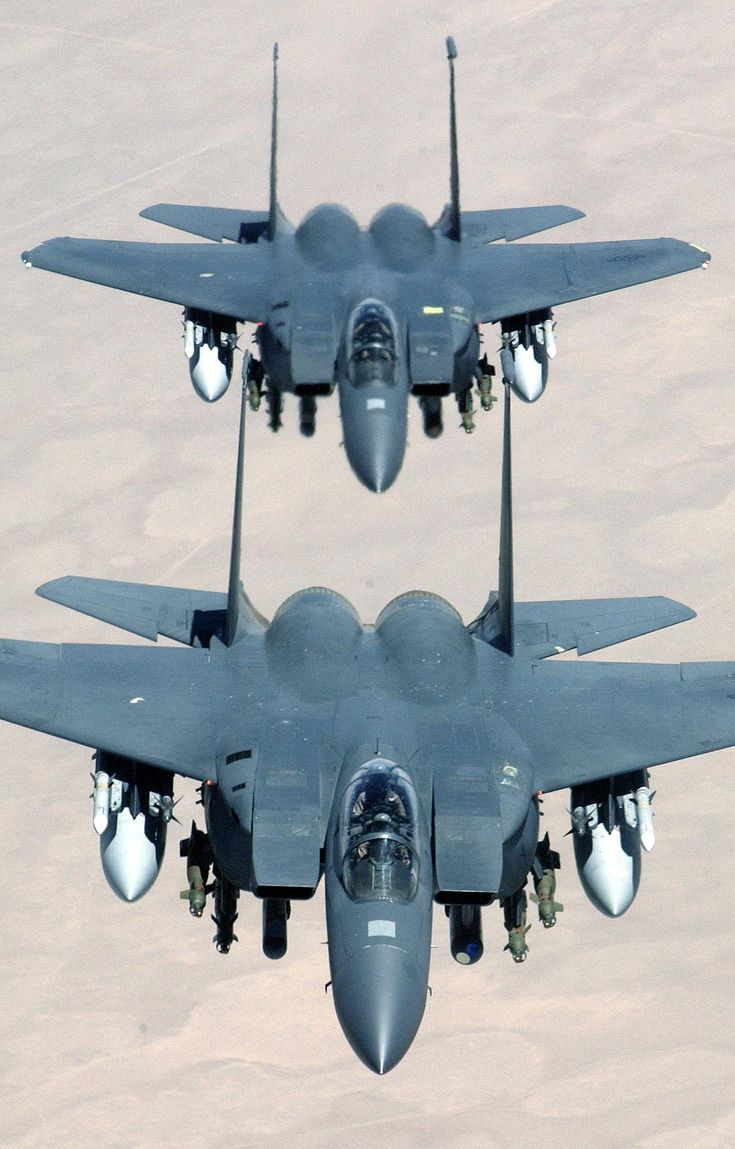 F15E's fly over Iraq