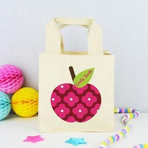 Personalised 'Apple' Teacher Lunch Bag - Find the perfect present for your little nipper's school teacher. From beautifully personalised gifts to classroom essentials, you'll be sure to find something that will send your child to the top of the class.