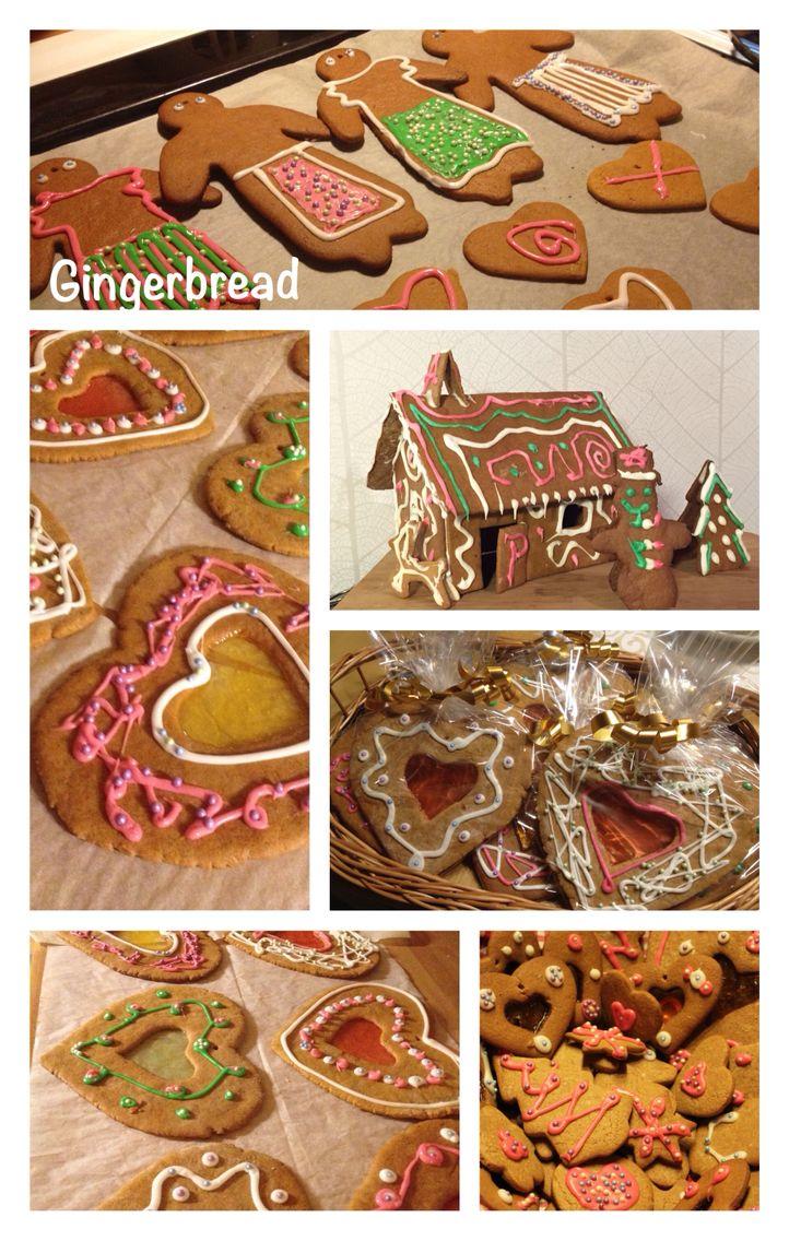 Selfmade Christmas presents: gingerbread #diy #christmas #present #gingerbread #biscuits