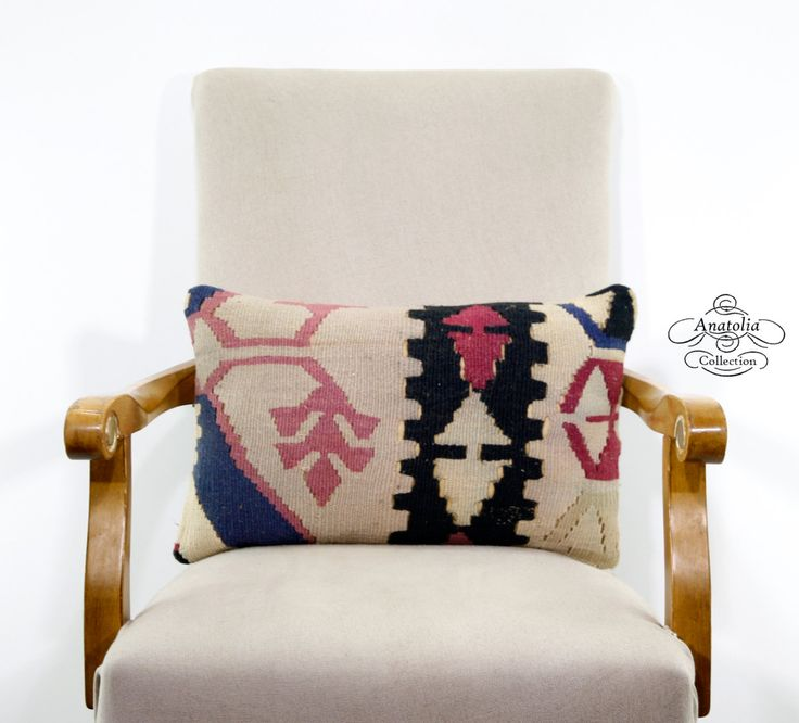 Eclectic Couch Pillows : LumbART Turkish Kilim Rug Pillow Tribal Decorative Nomadic Sofa Throw Eclectic Cushion Cover ...