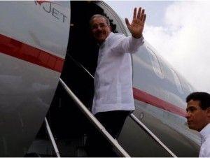 El presidente Danilo Medina sale hacia Nicaragua