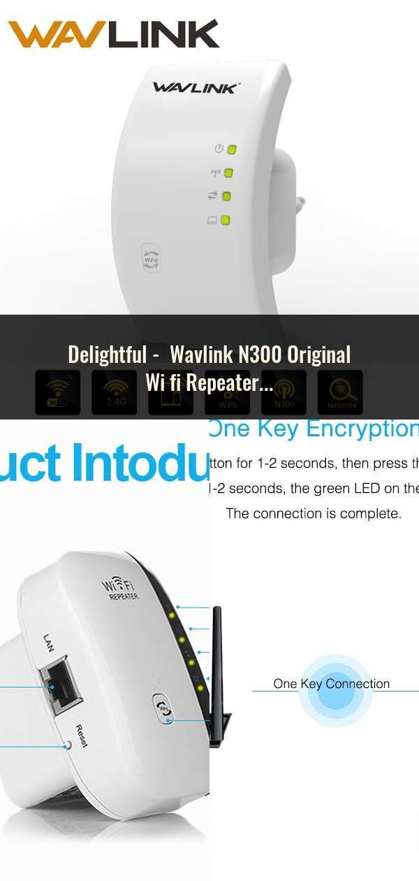 Wavlink N300 Original Wi Fi Repeater 300mbps Mini Wireless N