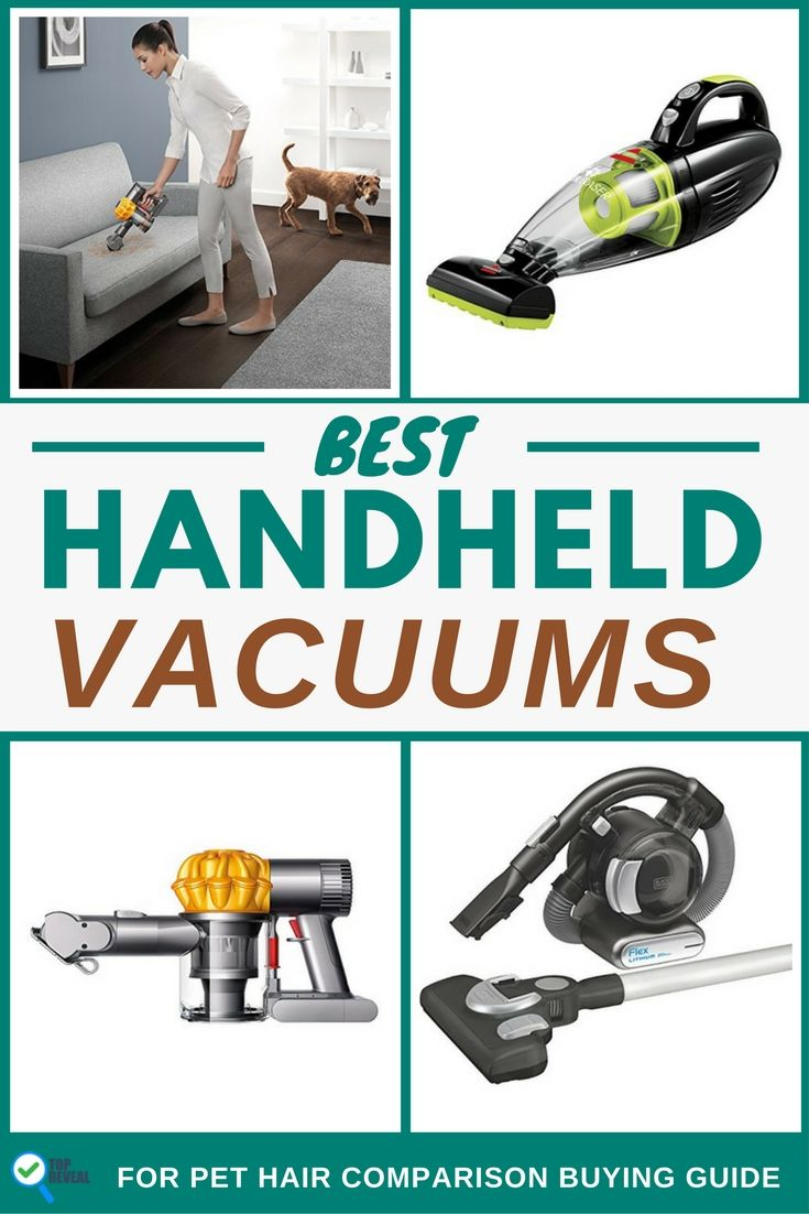 Best handheld vacuums for pet hair comparison buying guide 2016 2017