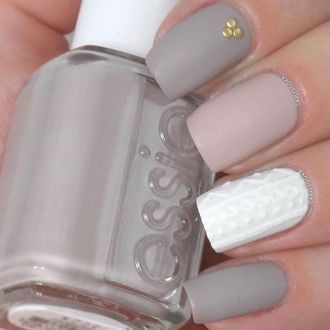 Take It Outside ❤️ Matte nail polish is certainly not a recent invention but…