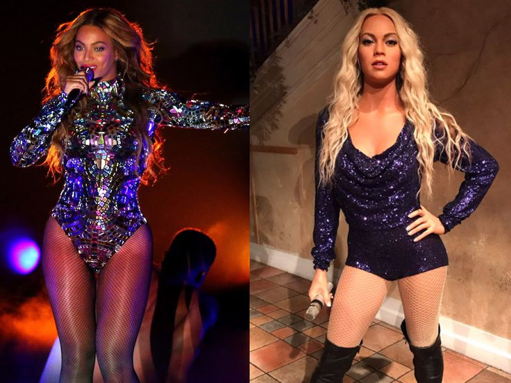 People are furious that Beyoncé's new wax figure looks white - The INSIDER Summary:  Several wax figures have been created in Beyoncé's  likeness.  The latest figure was spotted at Madame Tussauds in Orlando, Florida.  After a photo surfaced, many Beyoncé  fans took to Twitter and expressed that it looks white and nothing like the star at all.  At least six different wax versions  of Beyoncé have been created over the years.  One of the newest figures to be created in her likeness, at Madame…