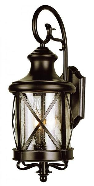 Rubbed oil bronze two light up lighting outdoor wall sconce from the outdoor collection