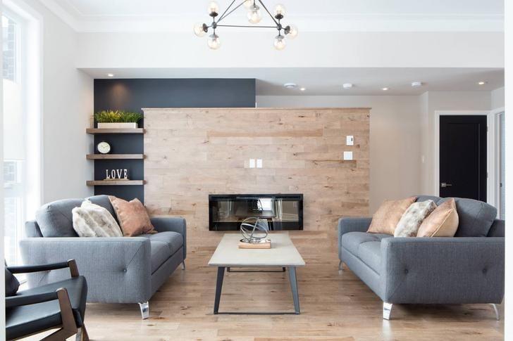 Le confort et la tranquillité d'esprit d'une maison neuve!   Quoi de mieux?   #maison #immobillier #realestate #luxuryhomes #maisonneuve #construction #quebec #montreal #banlieue #fireplace #comfy #comfyhome
