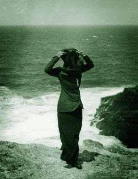 Anni Simberg, Quiberon, Brittany by Hugo Simberg, 1910