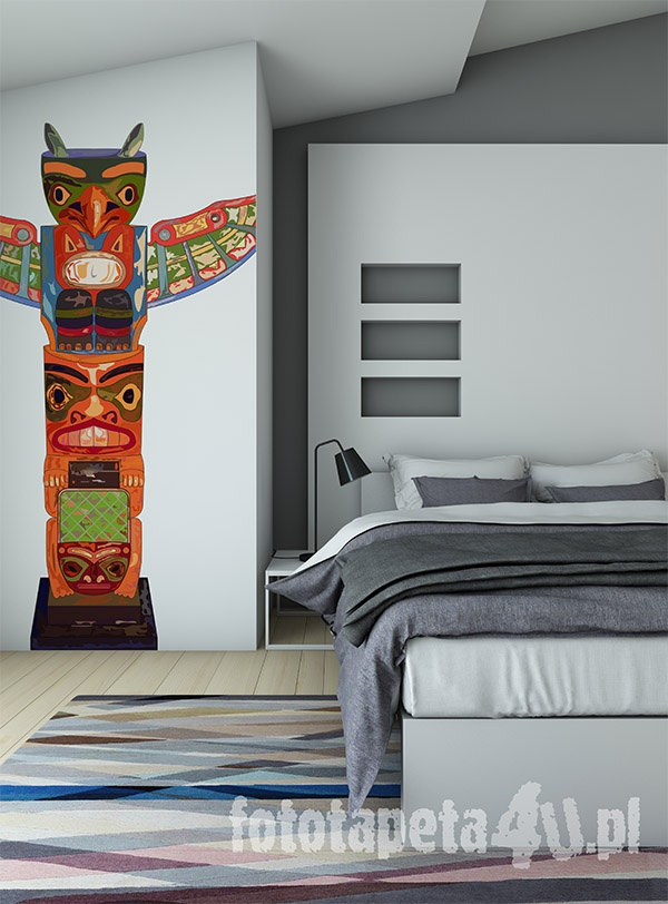 Totem on the wall