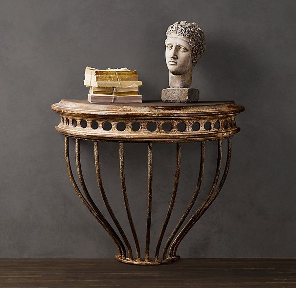 42 best restoration hardware images on pinterest restoration hardware for the home and living - Restoration hardware entry table ...