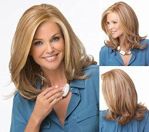 La mode pratique une nouvelle image Or l'Europe Cogne un fille longue ligne droite cheveux Bobo perruques perruques mode vacances