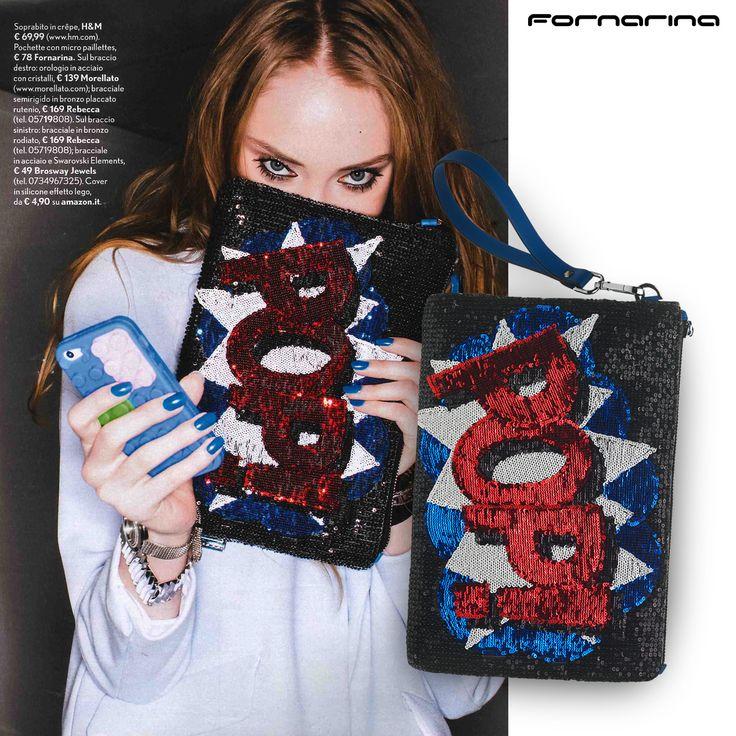 Fornarina bag on Tu Style #myFornarina #presspic #SS15 #pop #AndyWarhol #popart #smack