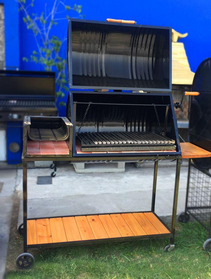 Chulengo Parrilla Tambor Completa Con Fogón, Mesada Y Deck - $ 7.660,00