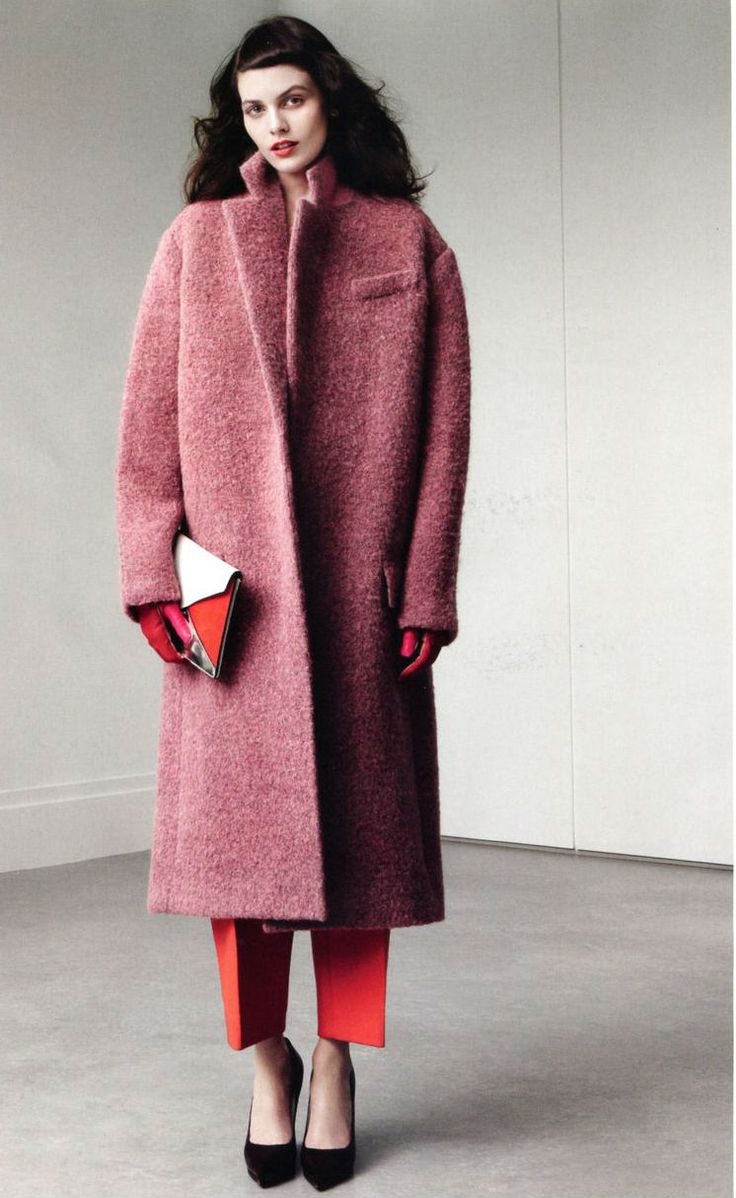 The color, the fabric, the warmth... #officefashion #workwear #trend