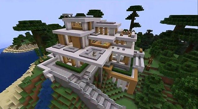 Modern House #7 Minecraft Project