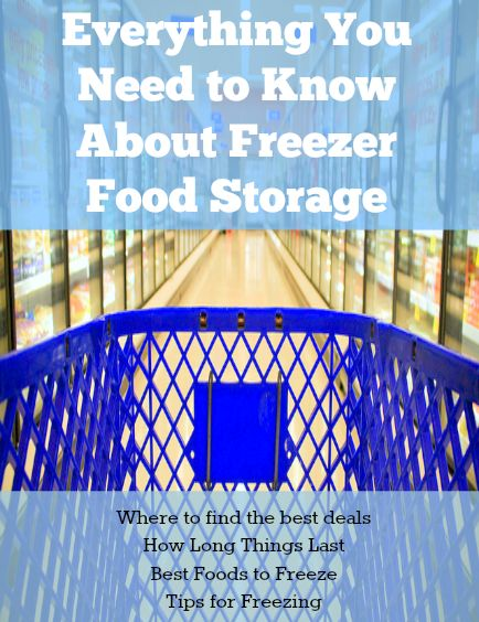 Here is everything you need to know about freezer food storage -- how long things last, where to get the best deals, how to freeze, and more...