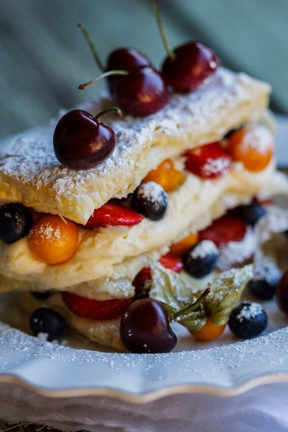 7477 best food images on pinterest delicious recipes for Easy french dessert recipes