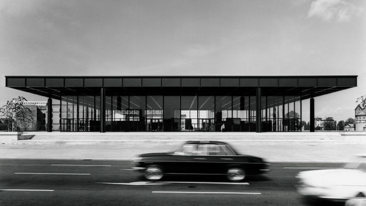 The Gallery in 1968 / Mies van der Rohe © Archiv Neue Nationalgalerie, Nationalgalerie, Staatliche Museen zu Berlin