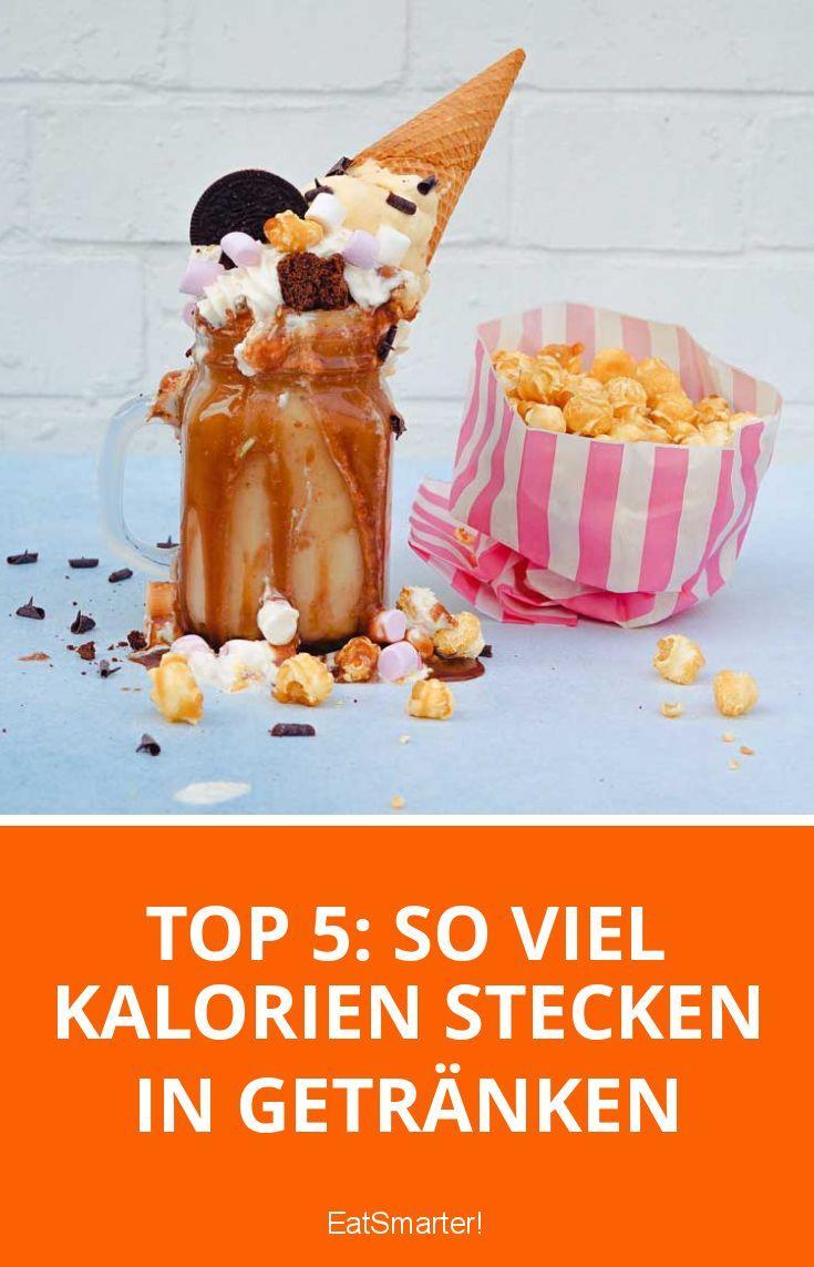 Top 5: So viel Kalorien stecken in Getränken | eatsmarter.de