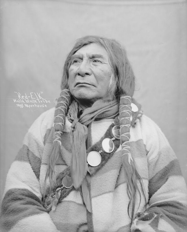 438898166 Walla Walla Indians. Creator: Moorhouse. National Anthropological Archives