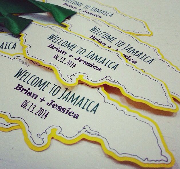 Tags for welcome baskets we did for a destination wedding in Jamaica. welcomebaskets #jamaica #helengevents #destinationwedding