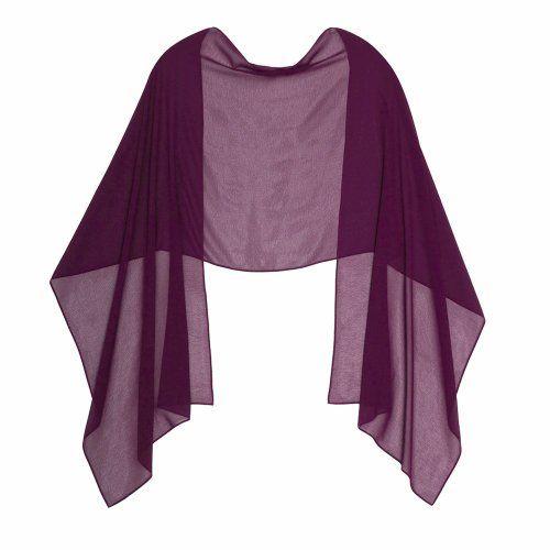 PLUM CHIFFON Stole Ideal for Evening Wear , Wedding , Parties , Bridesmaid , Bridal Wear or Bride or Prom proms (200cm *75cm, PLUM) LondonProm,http://www.amazon.co.uk/dp/B00IKP4NRI/ref=cm_sw_r_pi_dp_KNIEtb07M9E13H5K