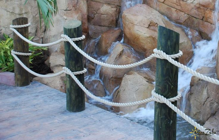 25 best ideas about rope fence on pinterest garden for Rope designs and more
