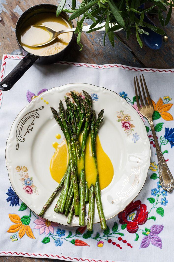 szparagi z sosem holendersskim