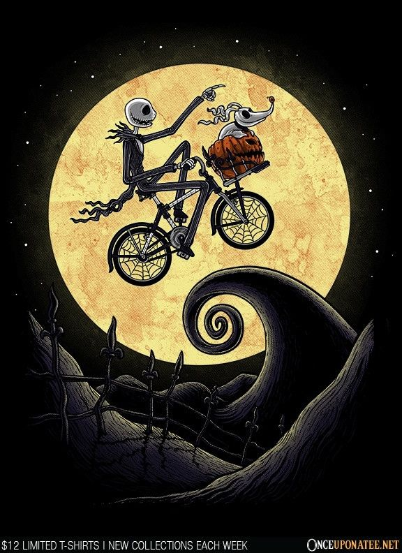 THE SHADOW ON THE MOON T-Shirt - Jack Skellington T-Shirt is $12.99 today at Once Upon a Tee!