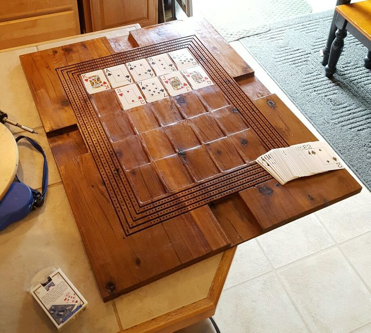 17 best ideas about cribbage board on pinterest yard for Table plan board