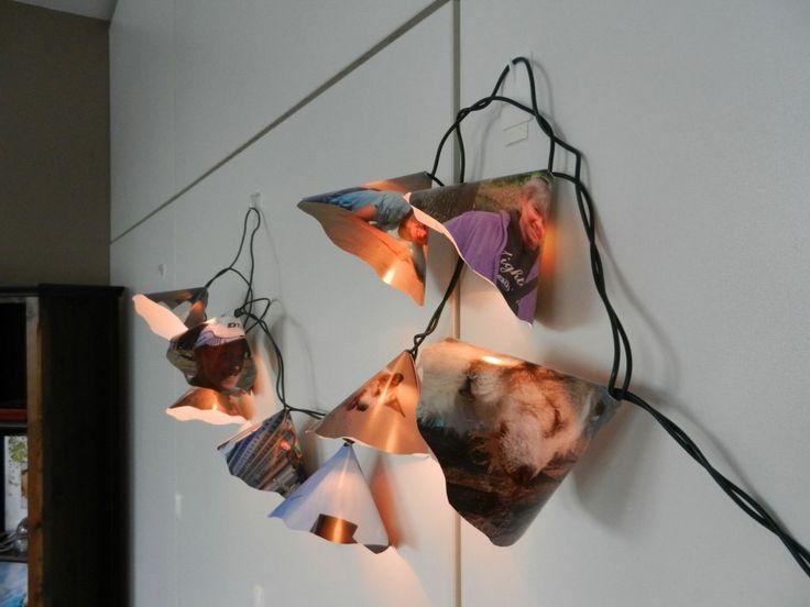 DIY Lichterkette mit Fotos