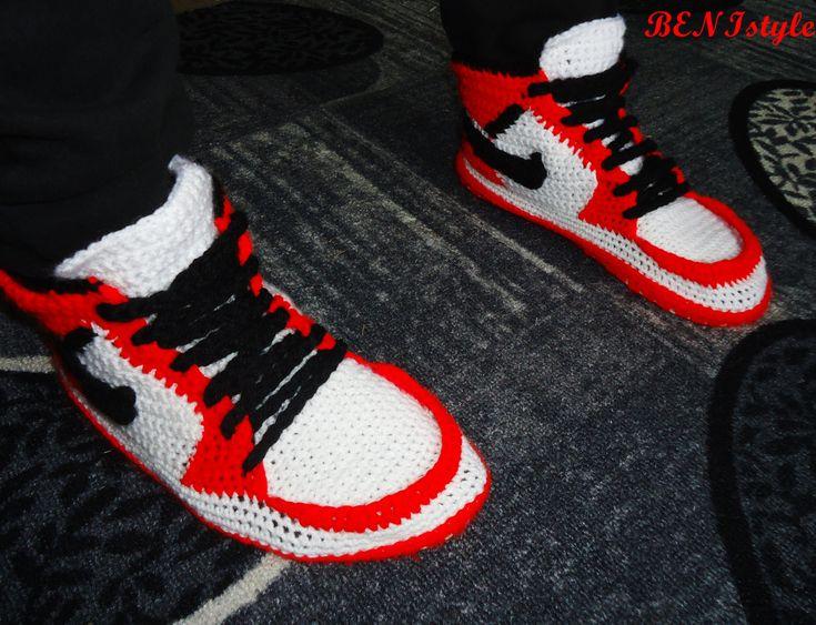 Crochet Jordan Shoes Free Pattern