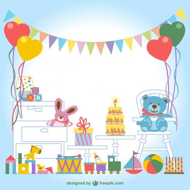 vecteur chambre d'enfants s Vecteur gratuit