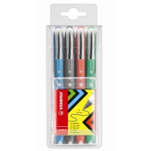 Stabilo Worker 0.7 Assorted Colour Rollerball (Pack Of 4) - £14.53 (inc VAT & Del)