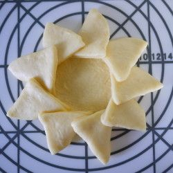 Savory Snack Bread: Cute Sunflower Shaped Hamburger Bread | Washoku.Guide